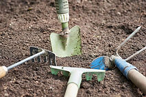 horizontal-shot-orchard-tools-garden-bac