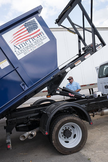 Rolly Away Dumpsters at American Container Services