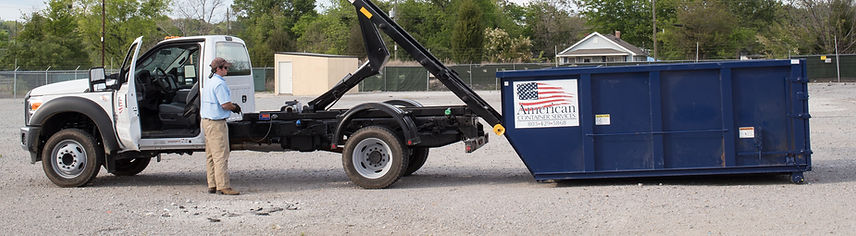 Dumpster Rentals at American Container Services