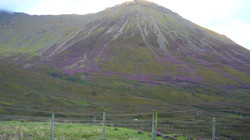 Inverness tour guide Heather on the Red cuillins of Skye.JPG