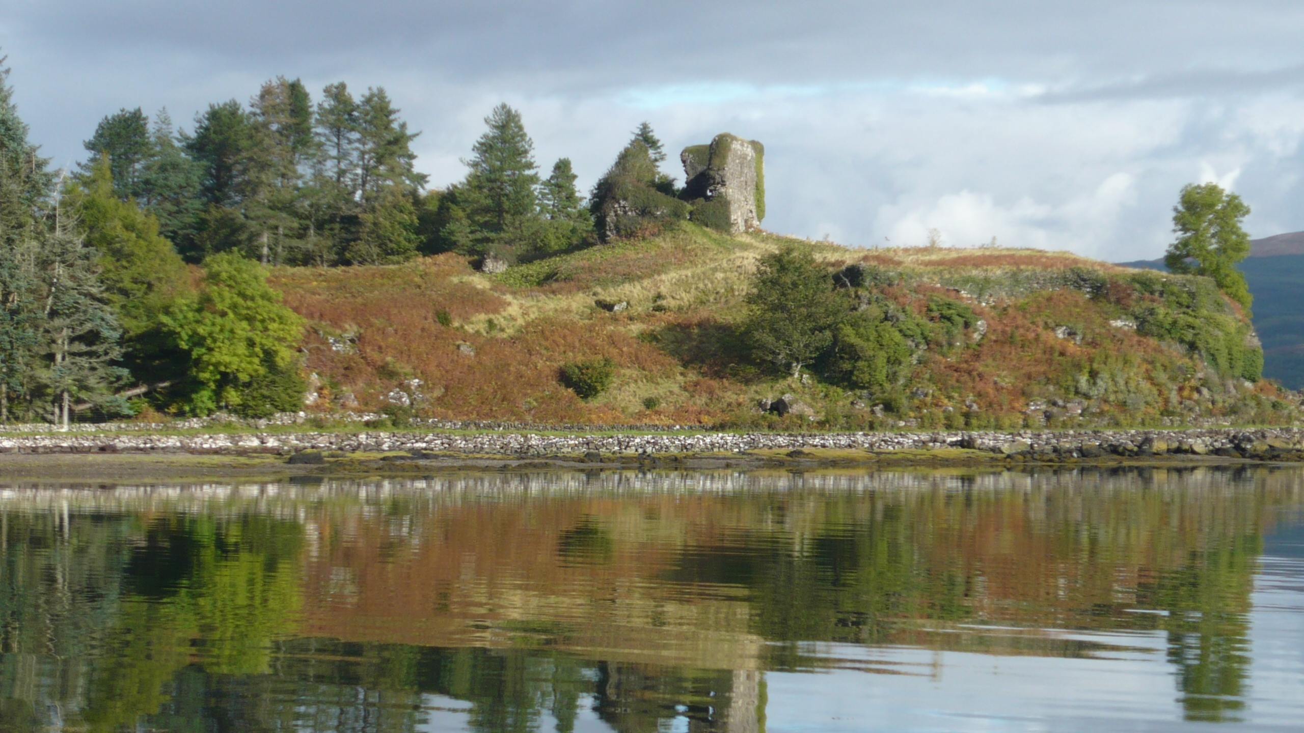 Inverness Tours to Mull Aros castle.JPG