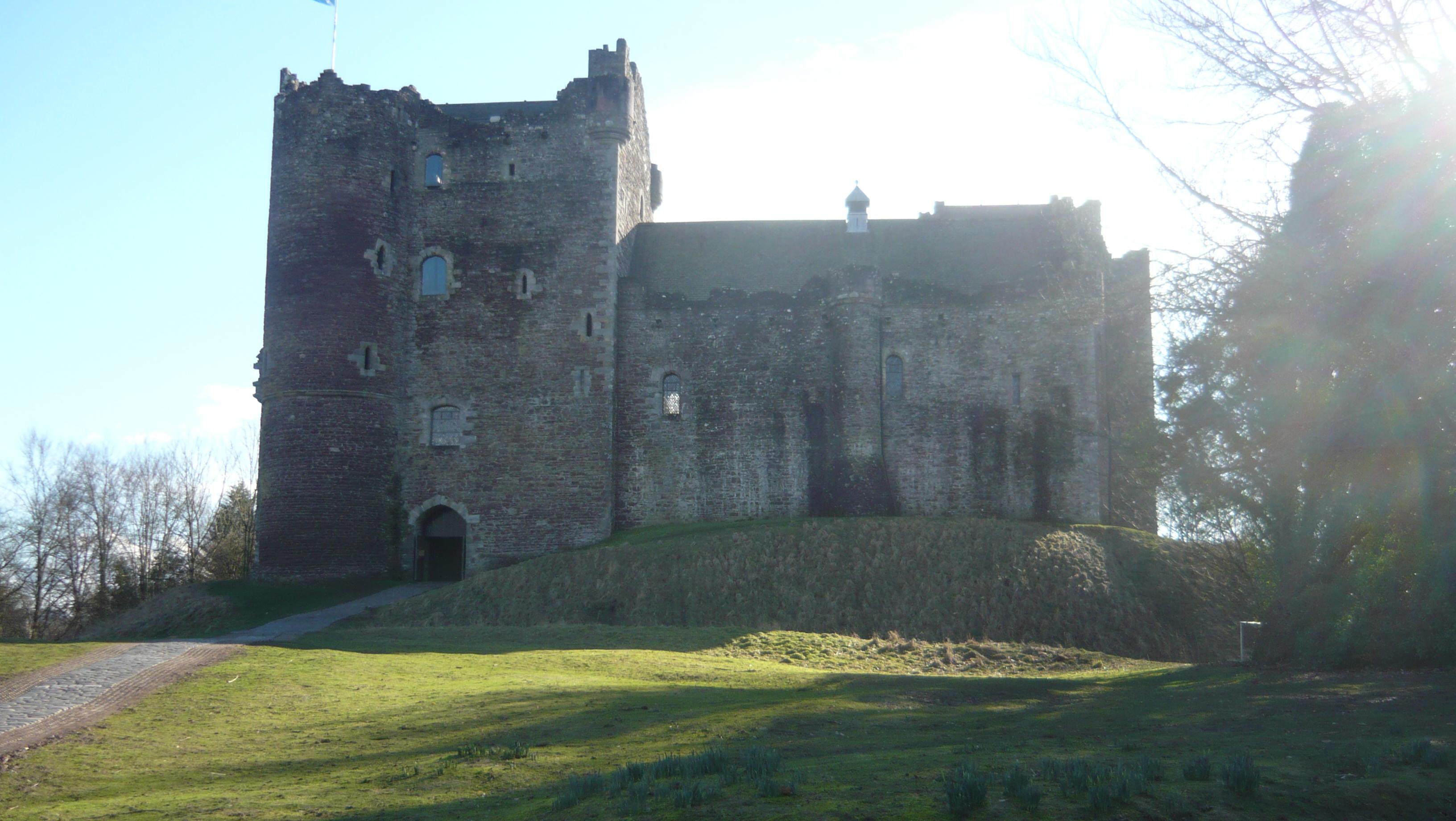 Inverness Tour Guide Doune Castle