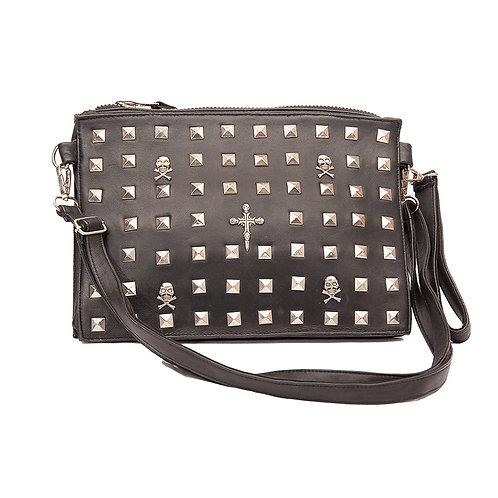 Leather Studded Punk Rock Bag