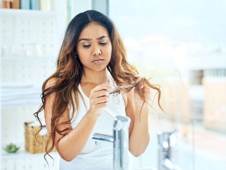 How To Deal With An Oily Scalp And Dry Ends