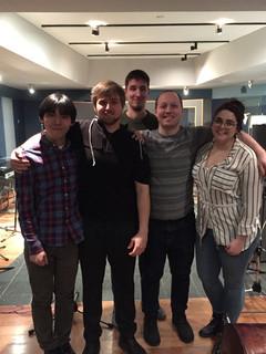 Recording Session at NYU