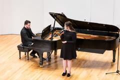 Performing at Manhattan School of Music