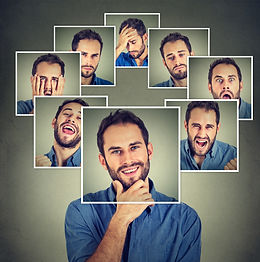 Inteligencia emocional faces homem reduz