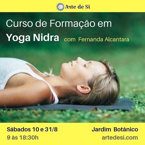 Curso de Formação em Yoga Nidra