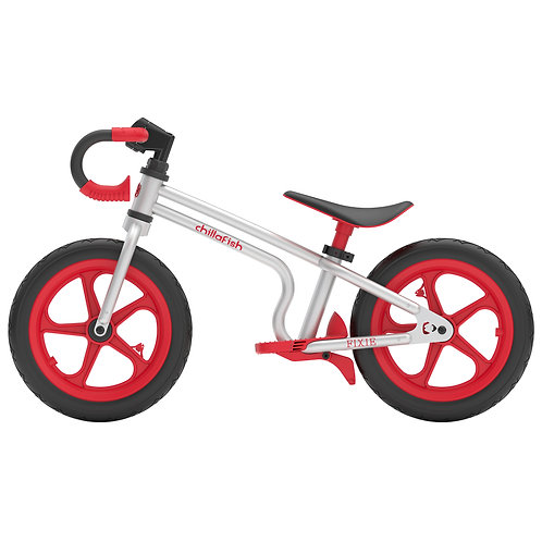 FIXIE fixed-gear styled balance bike with integrate footbrake