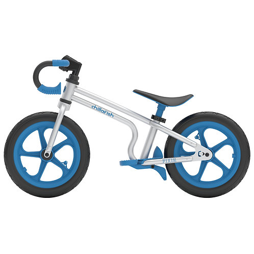 FIXIE fixed-gear styled balance bike with integrated footbrake