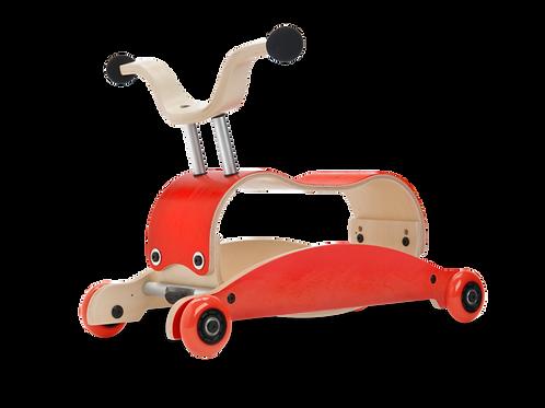 Wishbone Mini Flip - Red