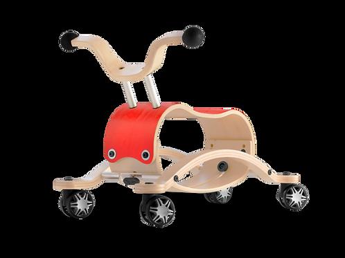 Wishbone Mini-Flip Racer - Red