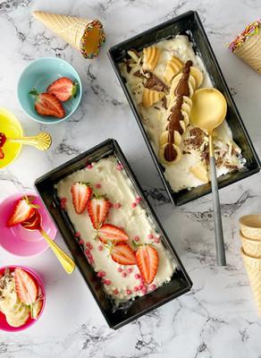 גלידה ביתית מ-2 מצרכים