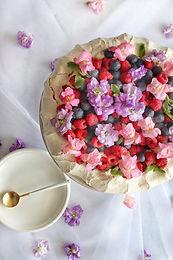 עוגת פבלובה מעוצבת