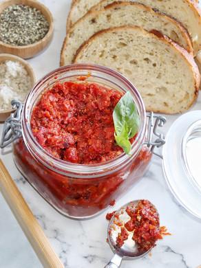 ממרח עגבניות מיובשות משודרג