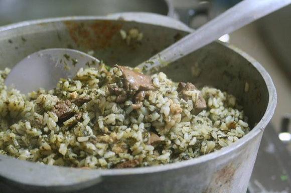 בחש – תבשיל אורז ירוק מהמטבח הבוכרי