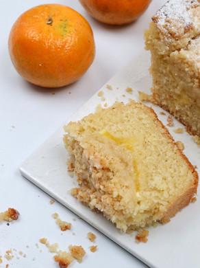 עוגת תפוזים קוקוס עם קראמבל של לייזה