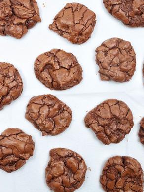 עוגיות שוקולד בראוניז פיצוצים