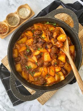 סופריטו קציצות ותפוחי אדמה בוכרי