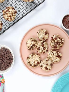 עוגיות גרנולה מ-3 מרכיבים (בלי סוכר/בלי קמח/בלי שמן)