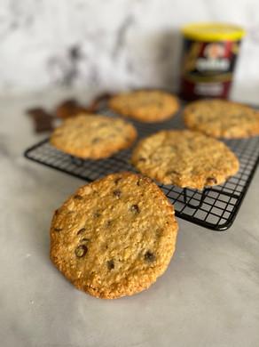 עוגיות גרנולה ענקיות