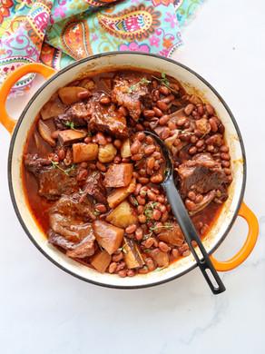 תבשיל קדירה עם בשר ושעועית - מתכון פטנט!