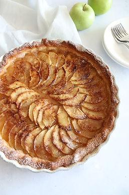 טארט תפוחים צרפתי מ-5 מרכיבים