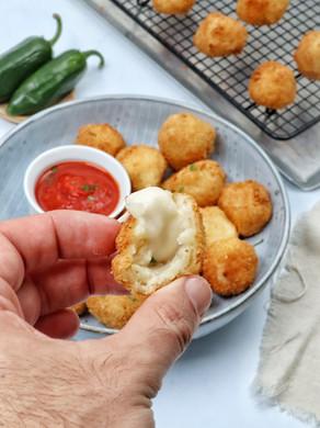 כדורי פירה במילוי גבינה עם טריק מהפכני