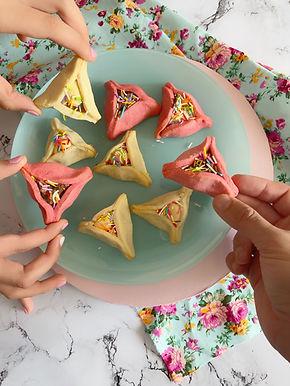 בצק אחד לעוגיות, אזני המן וטארטים