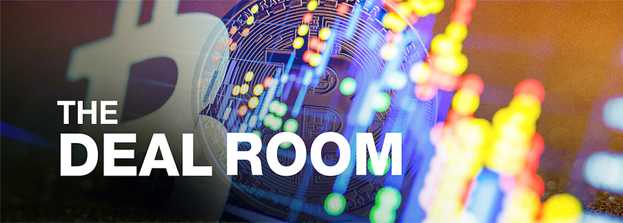 The DealRoom is a platform where large cryptocurrency transactions are held