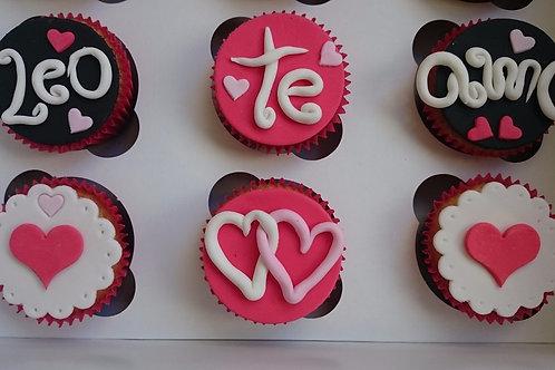 6 Cupcakes a Diseño