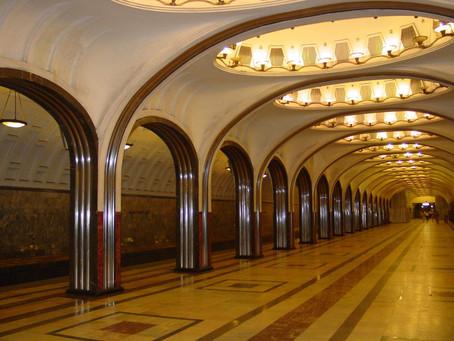 ロシアの地下鉄について