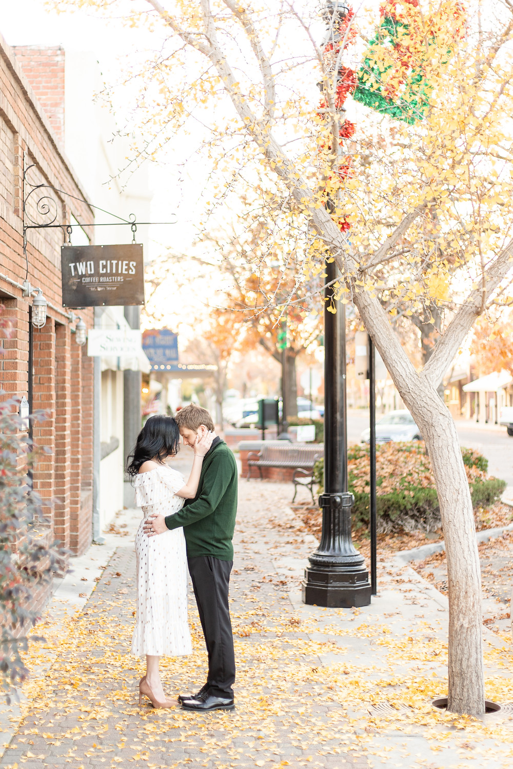 Portrait session by Central Valley couples photographer Ashley Norton.