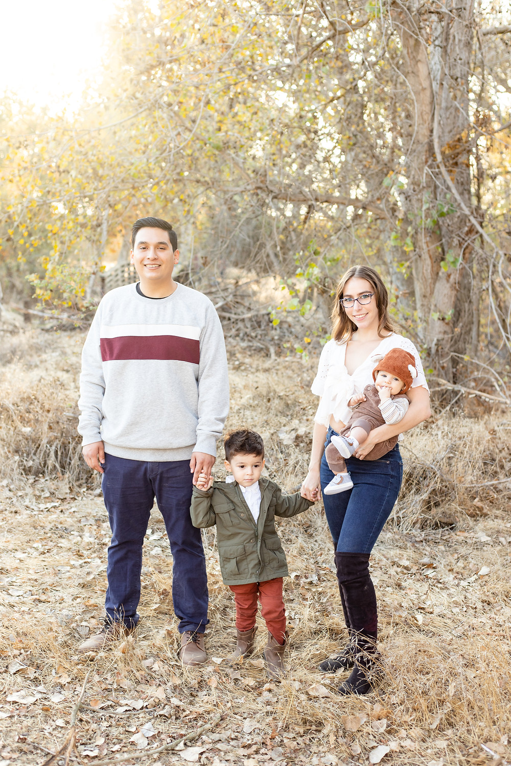 A portrait session by Fresno family photographer Ashley Norton.