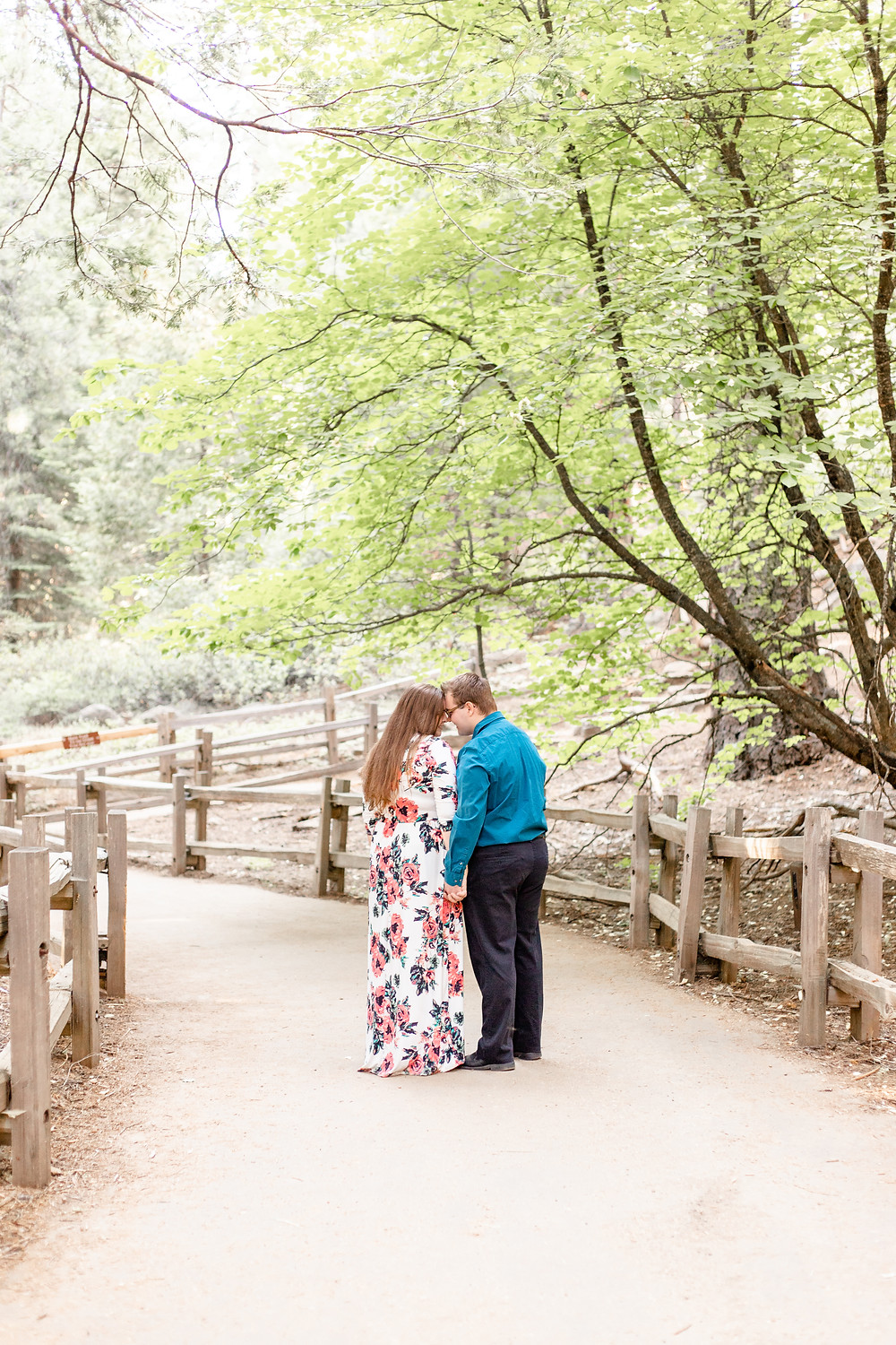 A couple's engagement session done by Ashley Norton Photography in California.