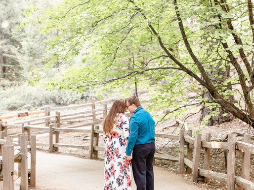 Emily & Kyle's Engagement Session | King's Canyon National Park, CA