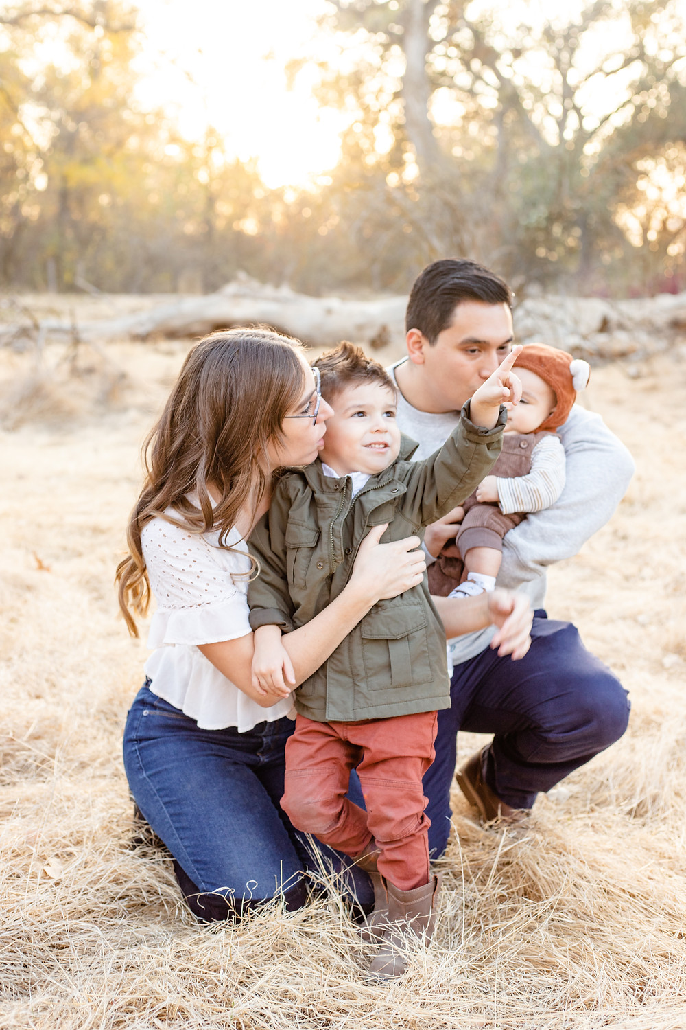 A portrait session by Clovis family lifestyle photographer Ashley Norton.