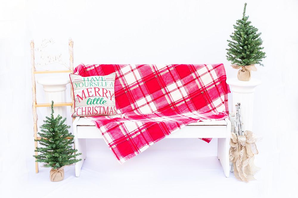 Christmas Mini Portrait Sessions by Ashley Norton Photography in Clovis, CA.