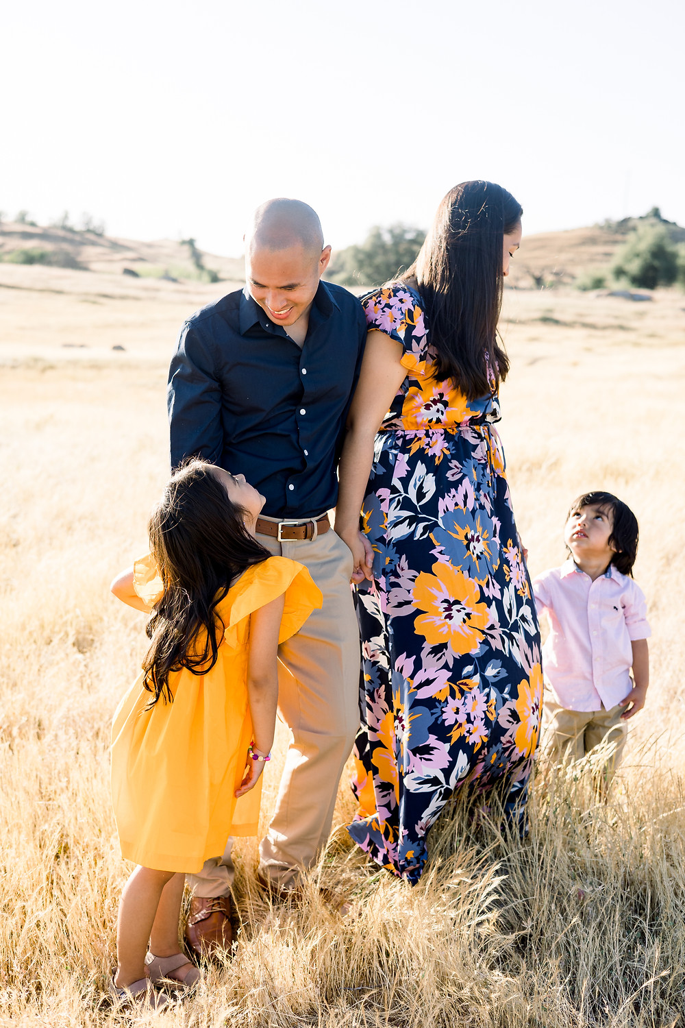 Ashley Norton Photography does a family session in Fresno, CA.