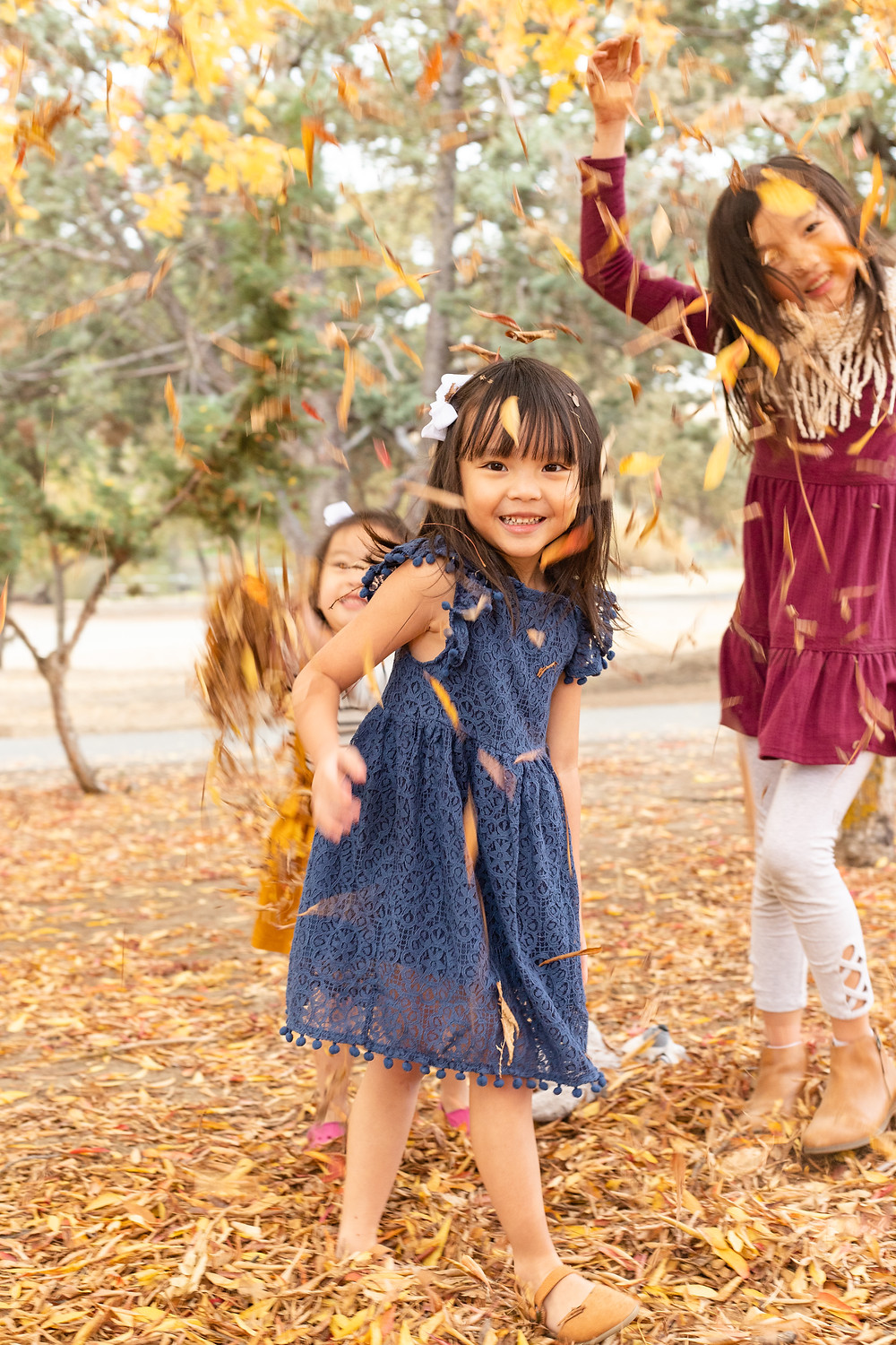 A family portrait session by Ashley Norton Photography in Lost Lake, CA.