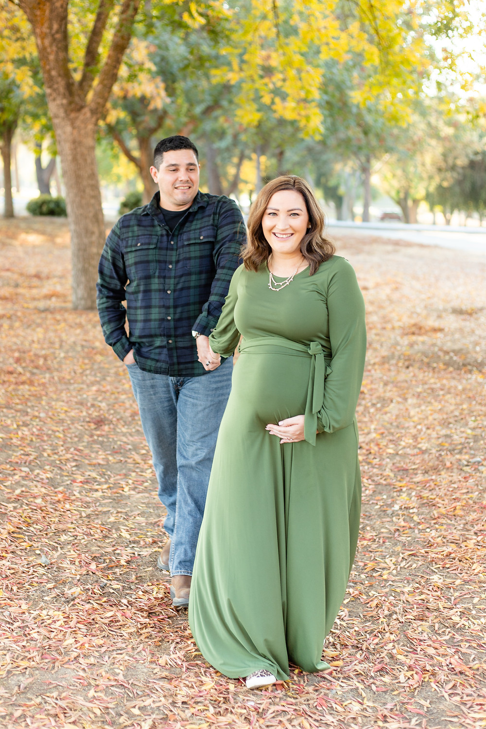 A maternity session in Lost Lake, CA by Ashley Norton Photography.