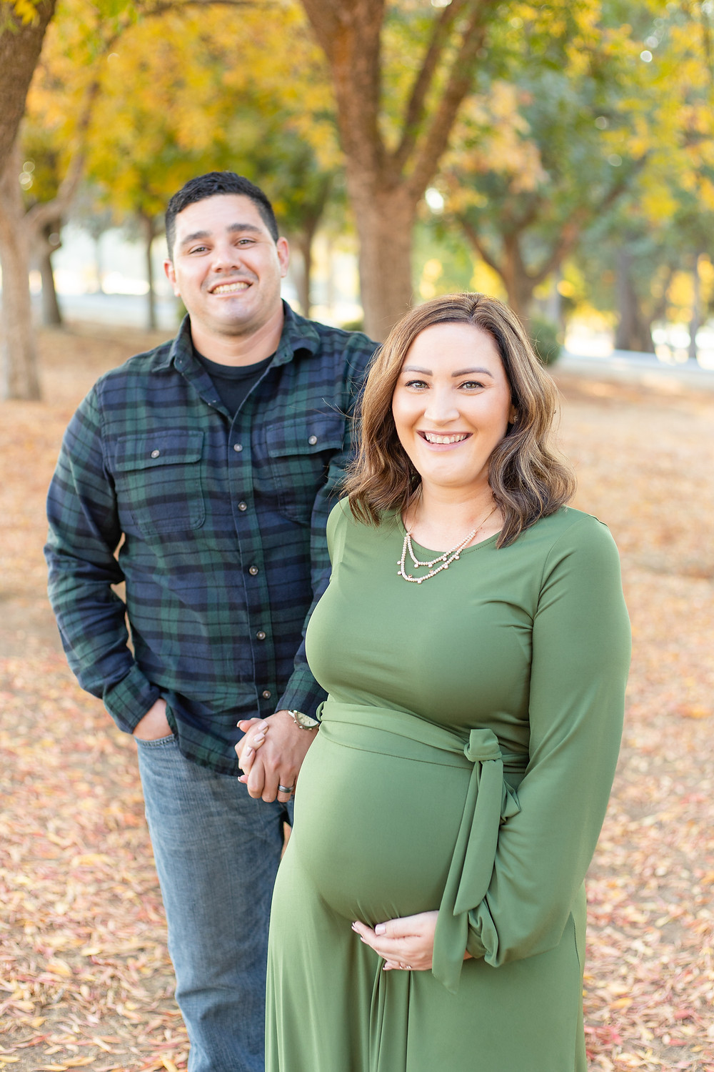 A maternity lifestyle session in Fresno, CA by Ashley Norton Photography.