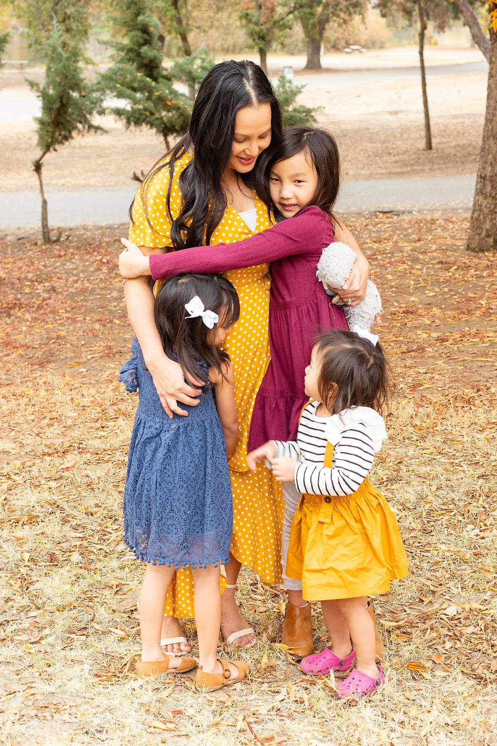 A family photo session by Ashley Norton Photography in Fresno, CA.