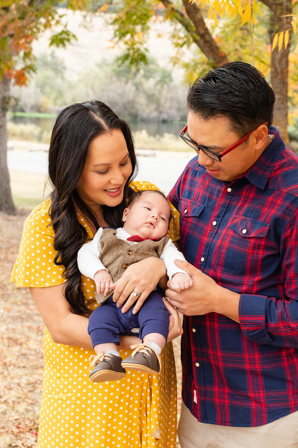 A family session by Ashley Norton Photography in Lost Lake, CA.
