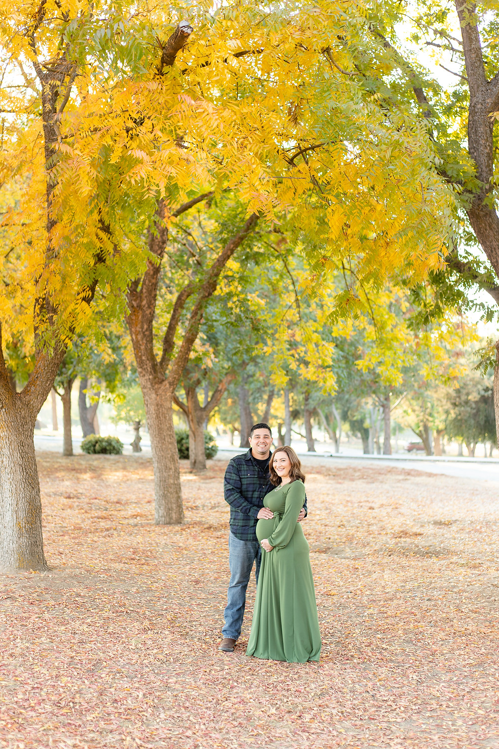 A maternity session in Fresno, CA by Ashley Norton Photography.