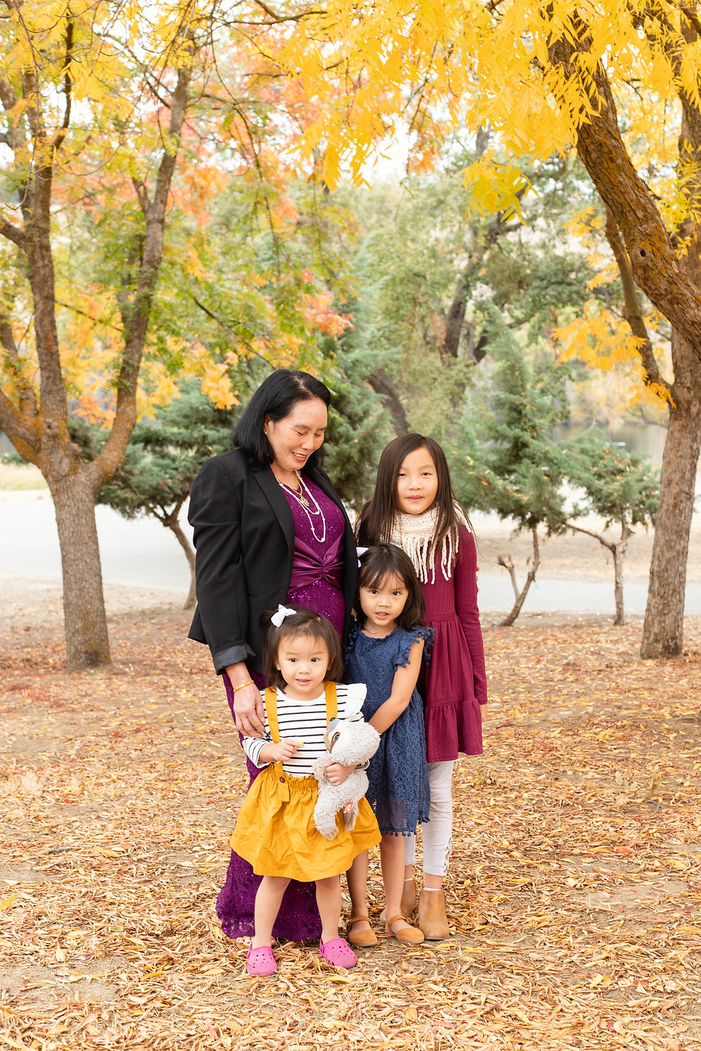 A family session by Ashley Norton Photography in Fresno, California..