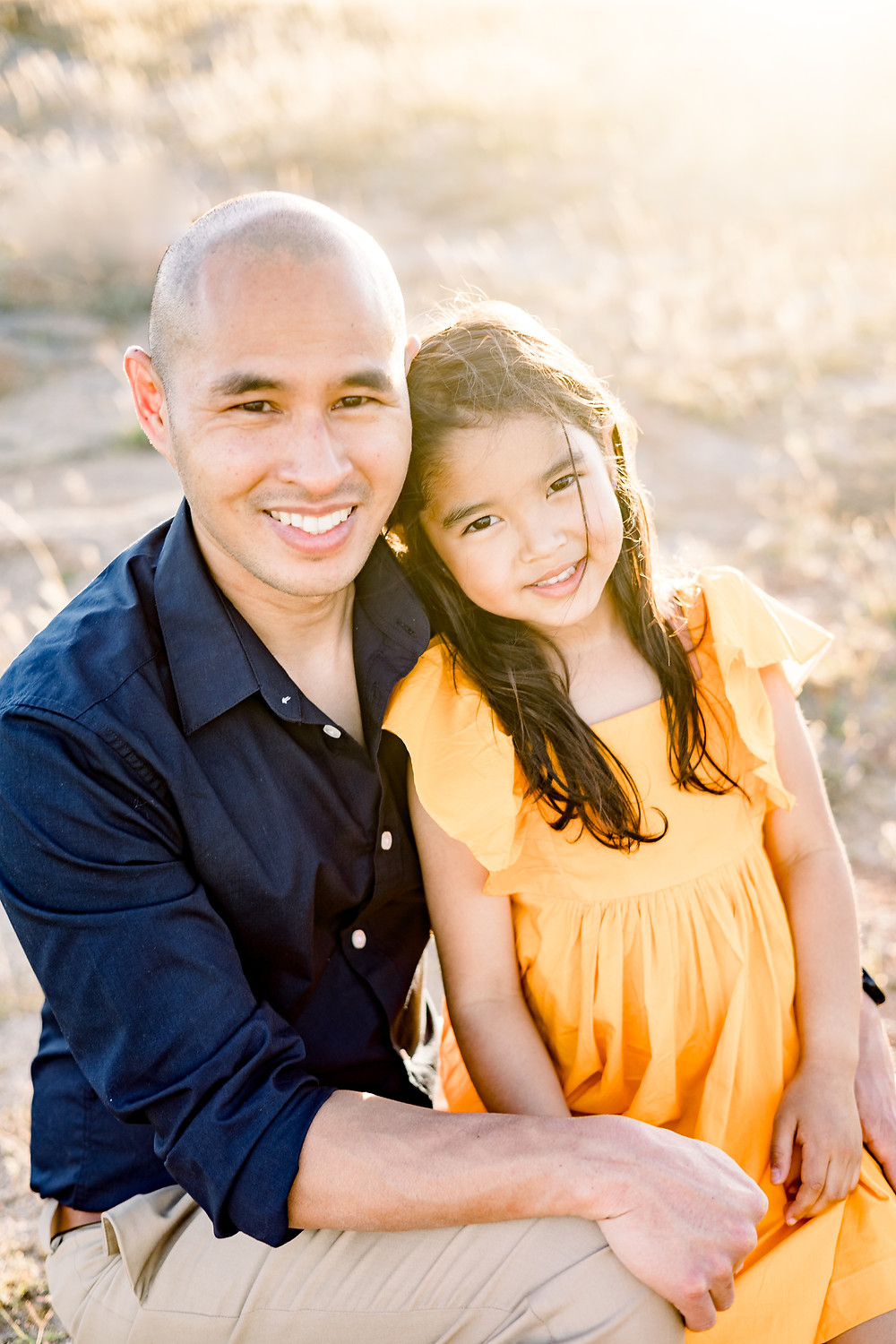 Family photo session in Fresno County by Ashley Norton Photography.