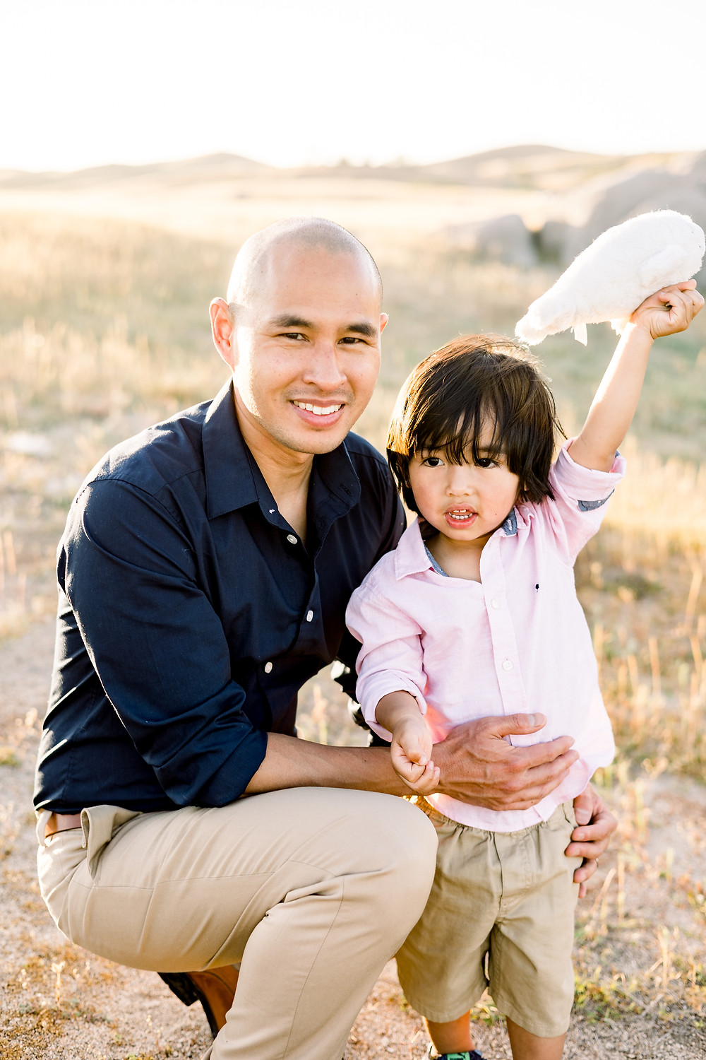 Family photo session in Clovis, CA by Ashley Norton Photography.