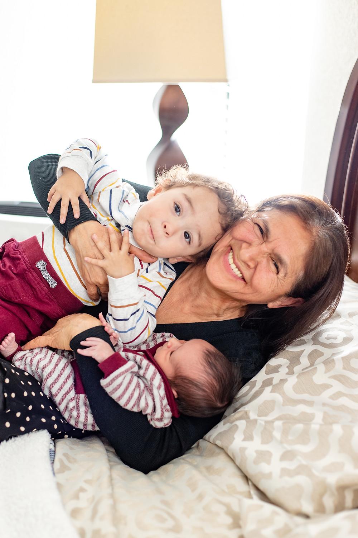 A session by Fresno newborn family photographer Ashley Norton.