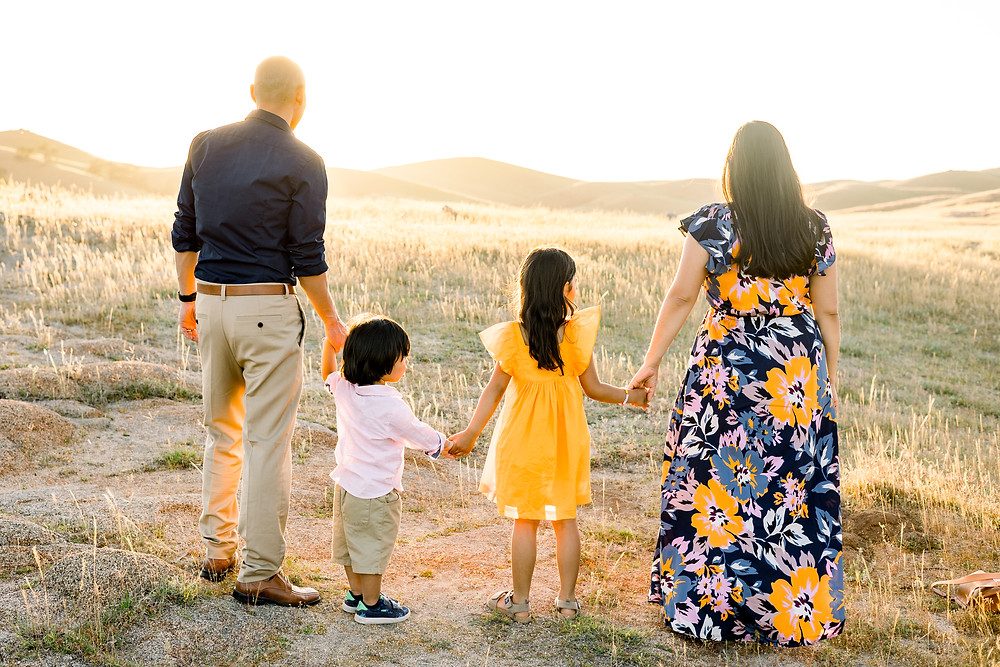 Family photo session in California by Ashley Norton Photography.